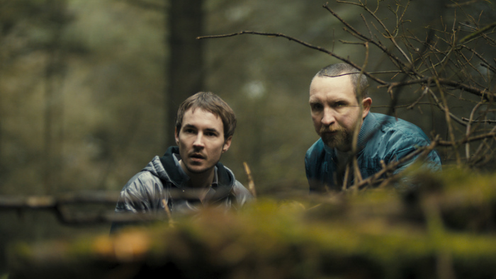 Eddie Marsan and Martin Compston in The Disappearance of Alice Creed (2009)