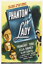 Phantom Lady (1944) Poster - Movie Forum, Cast, Reviews