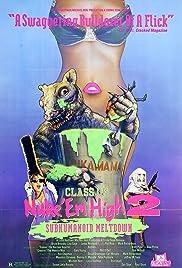 Class of Nuke 'Em High Part II: Subhumanoid Meltdown Poster
