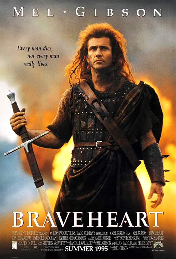 Braveheart 1995 Dual Audio 720p BRRip With ESub Free Download