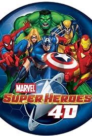 Marvel Super Heroes 4D Poster