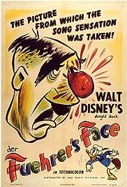 Der Fuehrer's Face(1942) Poster - Movie Forum, Cast, Reviews