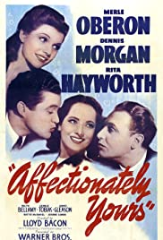 Affectionately Yours (1941) Poster - Movie Forum, Cast, Reviews