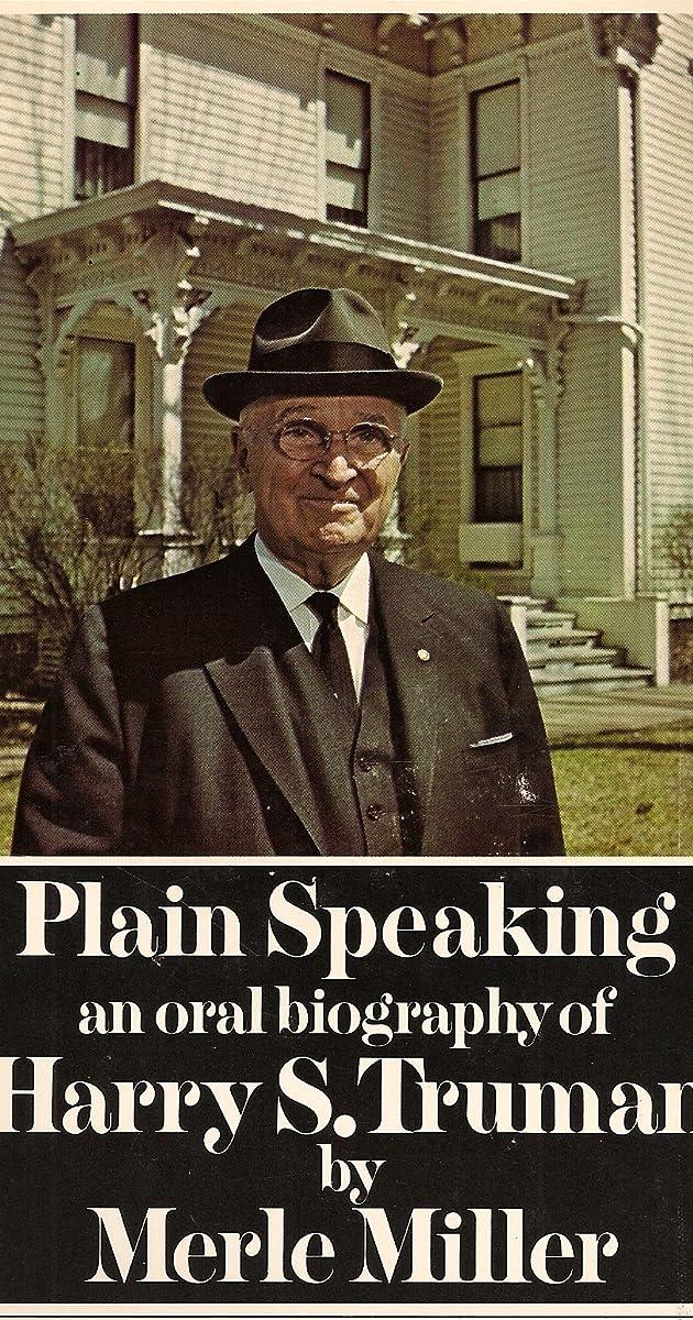 harry s truman plain speaking tv movie 1976 imdb