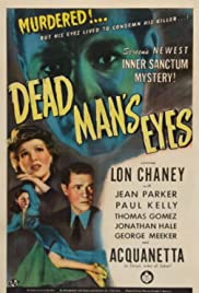 Dead Man's Eyes (1944) Poster - Movie Forum, Cast, Reviews