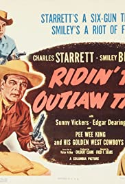 Ridin' the Outlaw Trail Poster