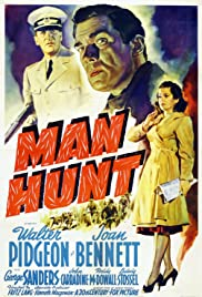 Man Hunt(1941) Poster - Movie Forum, Cast, Reviews