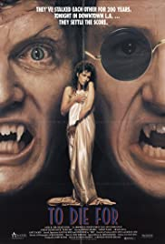 To Die For (1988) Poster - Movie Forum, Cast, Reviews