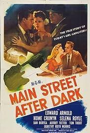 Main Street After Dark Poster