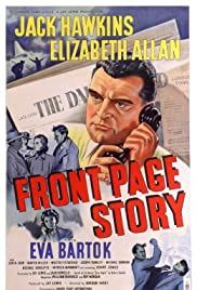 Front Page Story Poster