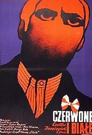 Czerwone i biale Poster