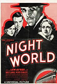 Night World (1932) Poster - Movie Forum, Cast, Reviews