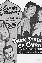 Dark Streets of Cairo Poster
