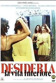 Desideria: La vita interiore(1980) Poster - Movie Forum, Cast, Reviews