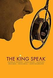 The King Speak Poster