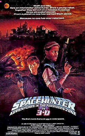 Poster Spacehunter - Jäger im All