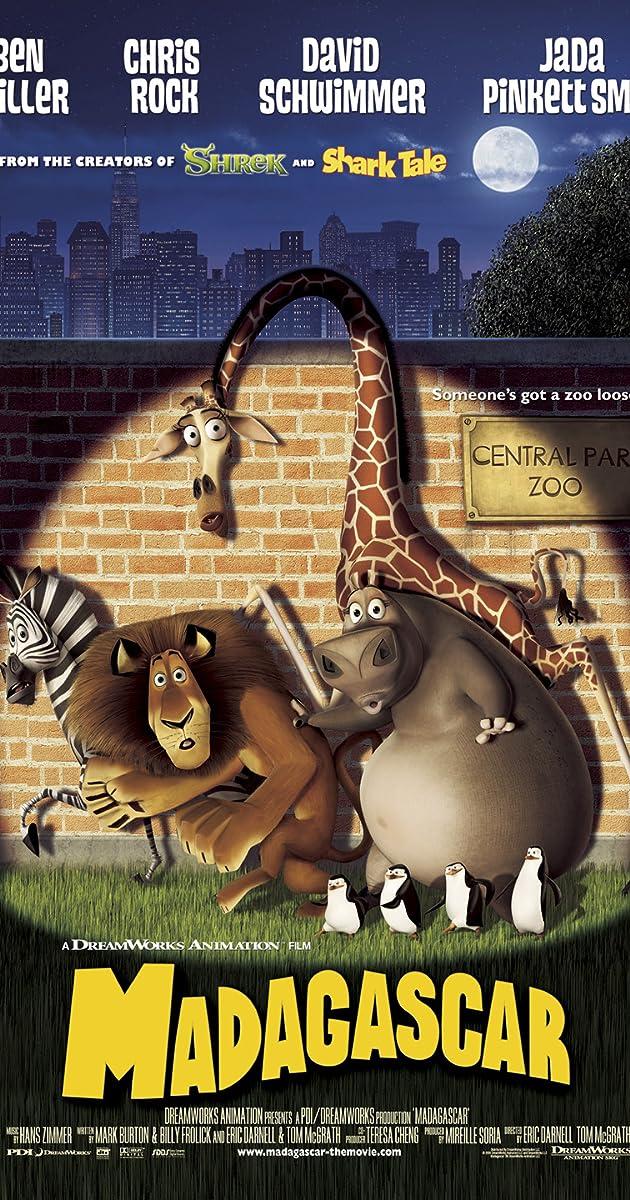 Favori Madagascar (2005) - IMDb WP49