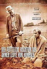 Der plötzliche Reichtum der armen Leute von Kombach Poster