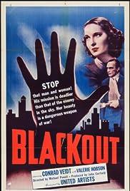 Blackout(1940) Poster - Movie Forum, Cast, Reviews