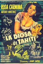 La diosa de Tahití Poster