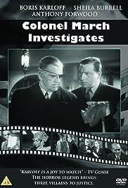 Colonel March Investigates Poster