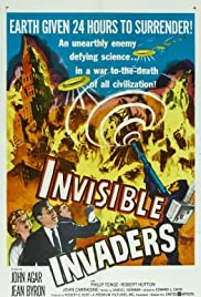 Invisible Invaders (1959) Poster - Movie Forum, Cast, Reviews