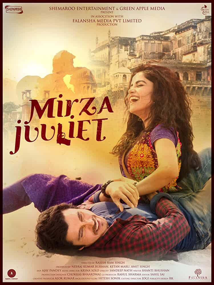 Mirza Juuliet 2017 Hindi 480p DVDRip full movie watch online freee download at movies365.org
