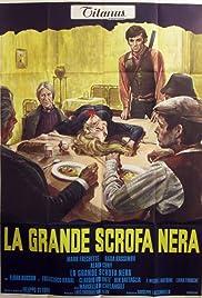 La grande scrofa nera Poster