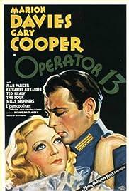 Operator 13(1934) Poster - Movie Forum, Cast, Reviews