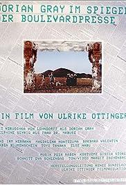 Dorian Gray im Spiegel der Boulevardpresse Poster