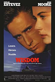 Wisdom (1987) Poster - Movie Forum, Cast, Reviews