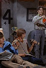 Monkees Watch Their Feet Poster
