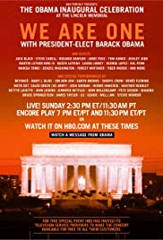 We Are One: The Obama Inaugural Celebration at the Lincoln Memorial Poster