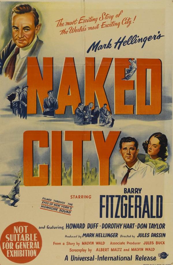 Risultati immagini per the naked city film 1948