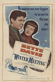 Winter Meeting (1948) Poster - Movie Forum, Cast, Reviews