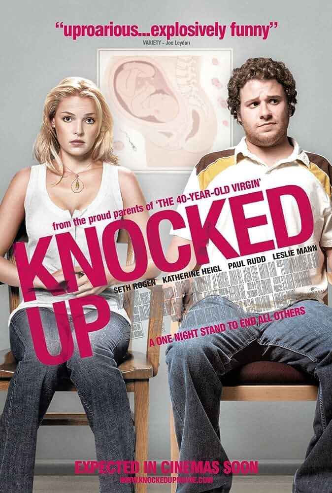 Knocked Up 2007 Hindi Dual Audio 480p BRRip full movie watch online freee download at movies365.org