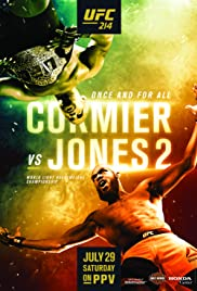 UFC 214: Cormier vs. Jones 2 Poster