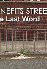 Benefits Street Poster - TV Show Forum, Cast, Reviews