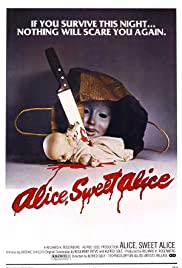 Alice Sweet Alice (1976) Poster - Movie Forum, Cast, Reviews