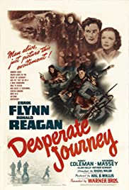 Desperate Journey (1942) Poster - Movie Forum, Cast, Reviews