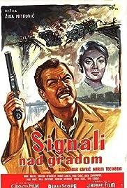 Signali nad gradom Poster