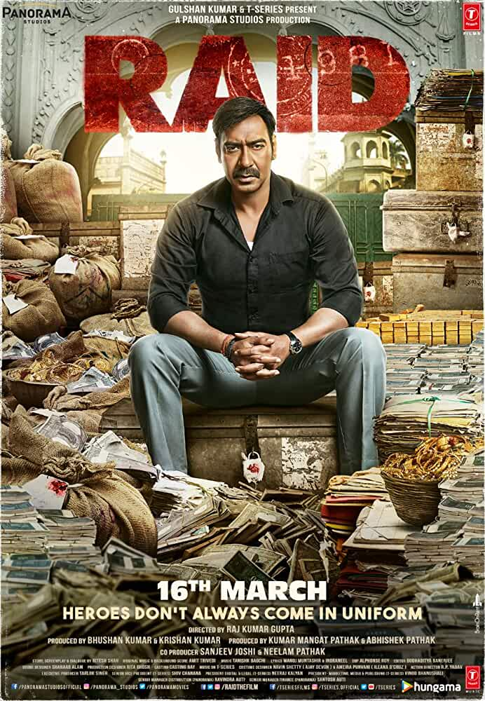 Download Raid 2018 | Full Movie Watch Online | Ajay Devgn | Ileana D'Cruz | Rajkumar Gupta | 16th March
