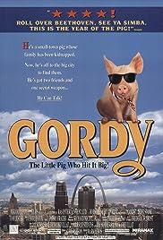 Gordy(1995) Poster - Movie Forum, Cast, Reviews