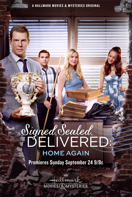 image Signed, Sealed, Delivered: Home Again (2017) (TV) Watch Full Movie Free Online