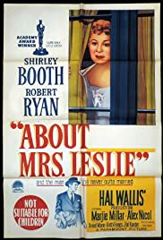 About Mrs. Leslie (1954) Poster - Movie Forum, Cast, Reviews