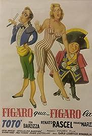 Figaro qua, Figaro là Poster