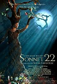 Sonnet 22 Poster