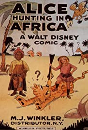 Alice Hunting in Africa Poster