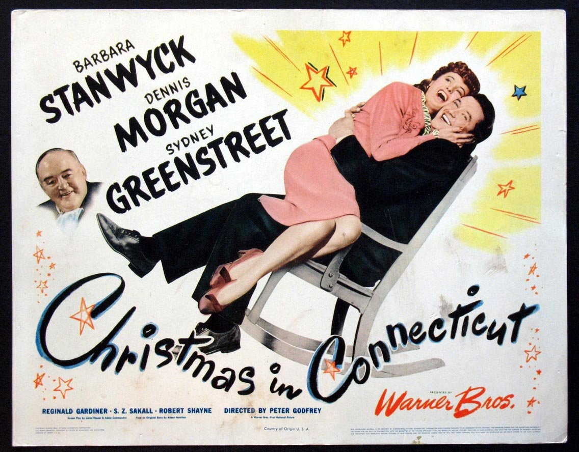 Image result for christmas in connecticut (1945)