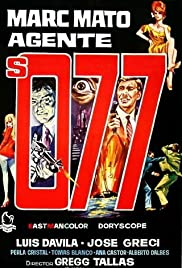 Marc Mato, agente S. 077 Poster